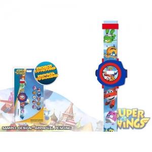 Zegarek na rękę z projektorem 10 obrazków Super Wings