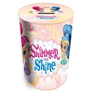 Shimmer and Shine Tin Pencil Holder and Coin Bank 10x7,5x7,5 cm