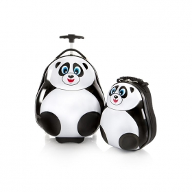Travel Tots Panda - Kids Luggage trolley & Backpack Set