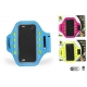 Bl neoprene phone armband with led light