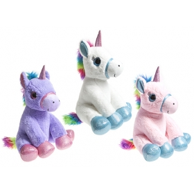Unicorn plush toy 40 cm - random style