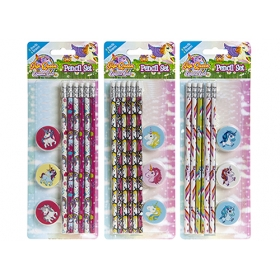 Unicorn stationery set - pattern to choose