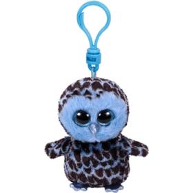 Beanie Boos Yago - blue owl keychain 8.5 cm