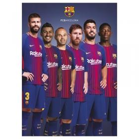 FC Barcelona postcard