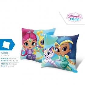 Shimmer and Shine cushion