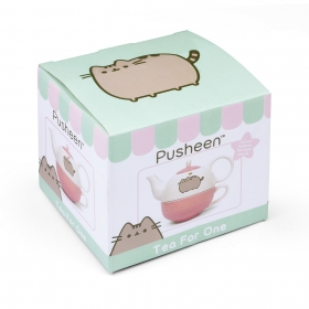 Pusheen tea for one set