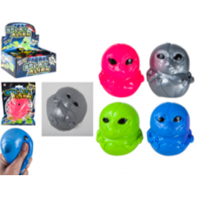 Alien splat face squigies in polybag