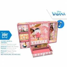 Vaiana musical jewellery box
