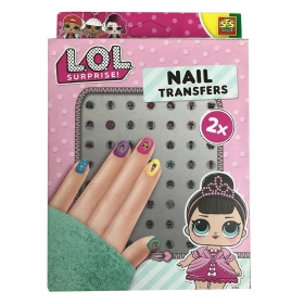 LOL Surprise nail stickers