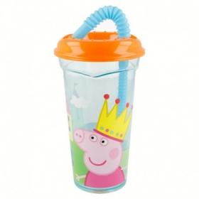 Peppa Pig straw tumbler 400 ml