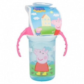 Peppa Pig silicone sippy training tumbler 330 ml