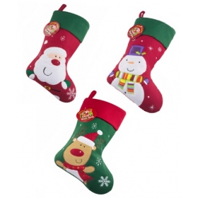 Christmas Craft - Stocking Red /Green - model to choose