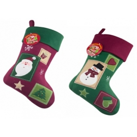 Christmas Craft - Stocking Patchwork - model to choose