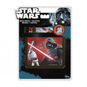 Zegarek na rękę i portfel Star Wars