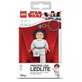 Lego Star Wars keychain with LED torch – Leia