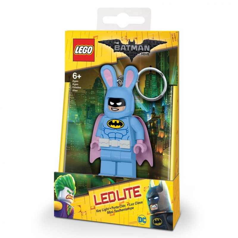 Lego Batman Movie keychain with LED torch - Bunny Batman ...