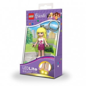 Lego Friends keychain with LED torch – Stepanie