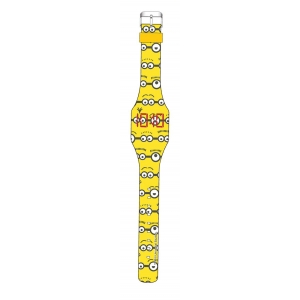 Zegarek ledowy na rękę Minionki