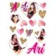 Ariana Grande wall sticker