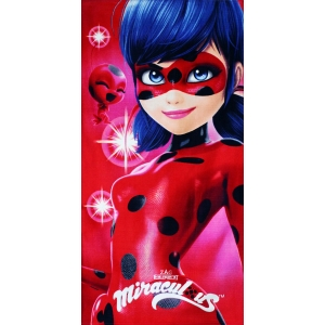Miraculous Ladybug beach towel