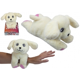 28 cm Hugglers Snap Band Plush On Tray Box Retiever