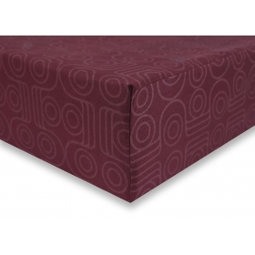 DecoKing Hypnosis Geoffrey microfibre fitted sheet 220x240 cm