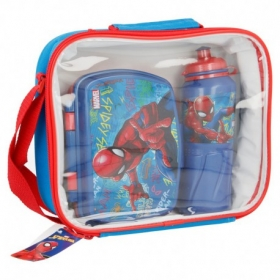 Spiderman 3 pcs bts set easy sport bottle 530 ml