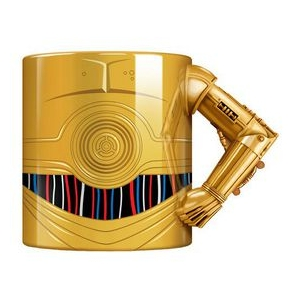 Star Wars C3PO Arm Mug Gold Finish