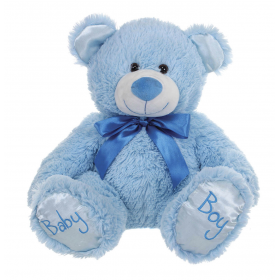 Sitting Baby Boy Bear 28 cm