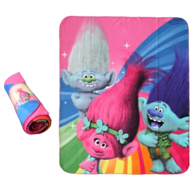 Trolls fleece blanket