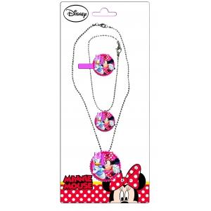 Komplet biżuterii Myszka Minnie