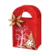 Christmas felt bag 12x7x13 / 18 cm