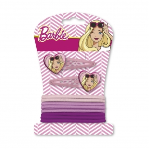 Barbie Hair clips + bands