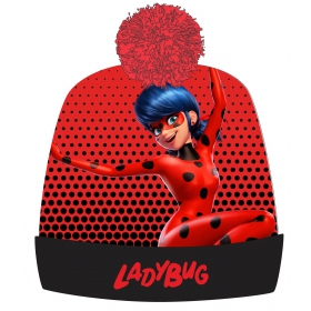 Miraculous Ladybug girl's autumn / winter cap