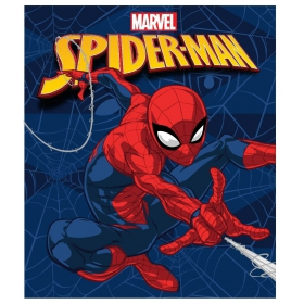 Spiderman boys fleece blanket
