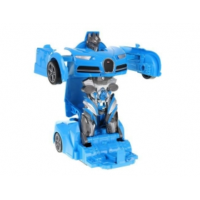 Folding car - robot - combat set, 2 pcs.