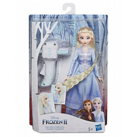 Frozen 2 doll with Elsa curler